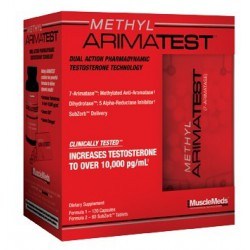 Methyl Arimatest 120 Capsules+60 Tablets 120 Kapszula + 60 Tabletta
