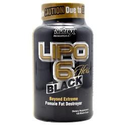 Lipo 6 Black Hers 120 Black Liquid Capsules (Black-Gold) 120 gélkapszula