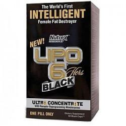 Lipo 6 Black Hers Ultra Concentrate 60 Black-Caps 60 Kapszula