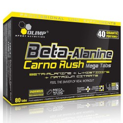 Beta-Alanine Carno Rush 80 Tabs 80 tabletta
