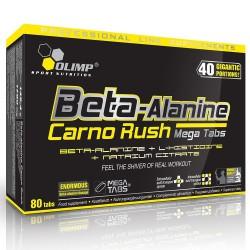 Beta-Alanine Carno Rush 80 Tabs 80 tabletta
