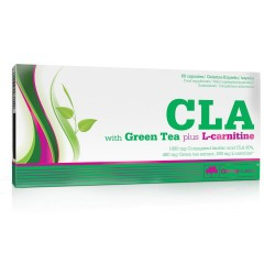 CLA with Green tea Plus L-Carnitine 60 capsules 60 Gélkapszula