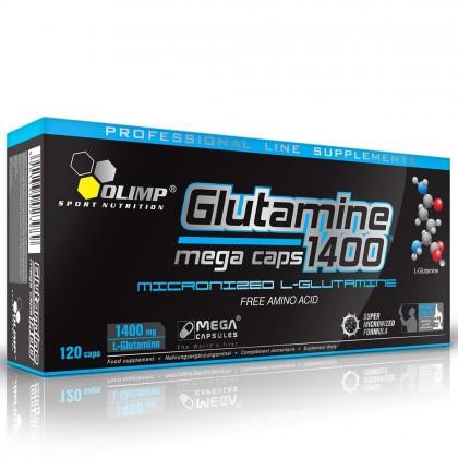 Glutamine Mega Caps 1400 120 Caps 120 kapszula
