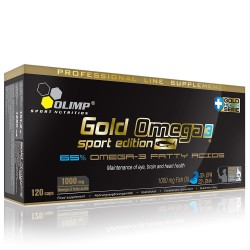 Gold Omega3 Sport Edition 120 Caps 120 kapszula