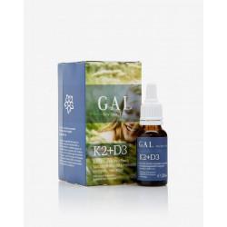 GAL K2-D3 vitamin Forte cseppek 20ml 1000 mcg K-komplex + 4000 NE D3 x 60 adag