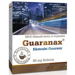 Guaranax 160mg (80mg caffein) 60 caps