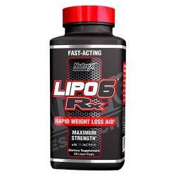 Lipo 6 RX 60 liquid capsules
