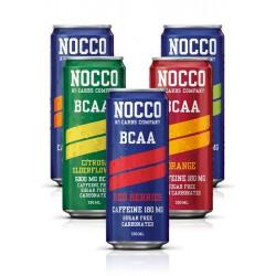 NOCCO BCAA DRINK caffein free 330ml (sugar freecukor mentes)
