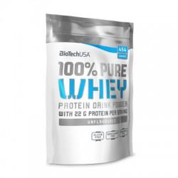 BioTechUSA 100% Pure Whey 454g Unflavoured (Ízesítetlen)