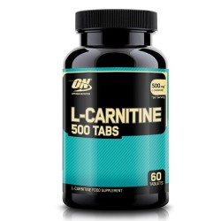 Optimum Nutrition L-Carnitine 500 Tabs - 60 tabletta