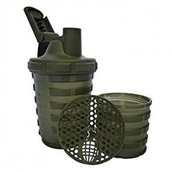 Grenade Shaker 700ml Keverőpalack khaki (zöld)