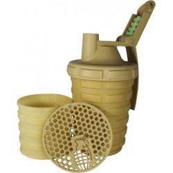 Grenade Shaker 700ml Keverőpalack beige (bézs)