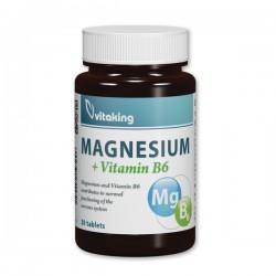 Vitaking Magnesium citrate + Vitamin B6 30 tab.