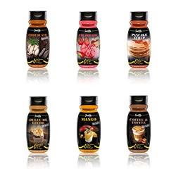 ServiVita Kalóriamentes Édes Szószok 320 ml (caloriefree sweet sauces)