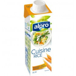 Alpro Cuisine Rice 250ml - Rizsalapú főzőkrém