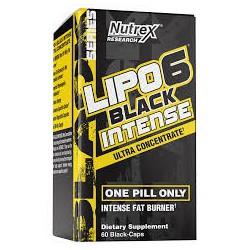 Lipo 6 Black Intense Ultra Concentrate 60 caps