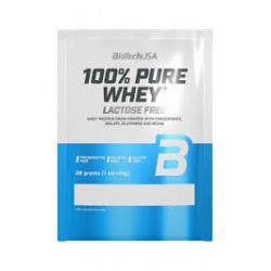 BioTechUSA 100% Pure Whey LACTOSE FREE (Laktóz mentes) 28g