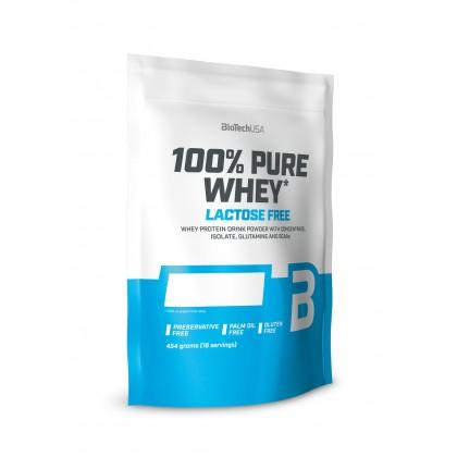 BIOTECHUSA 100% Pure Whey Laktóz mentes 454 g