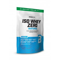 BioTechUSA Iso Whey Zero Natural prémium fehérje 500g