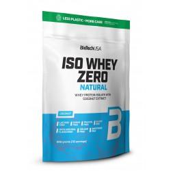 BioTechUSA Iso Whey Zero Natural prémium fehérje 1816g