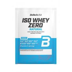 BioTechUSA Iso Whey Zero Natural prémium fehérje 25g