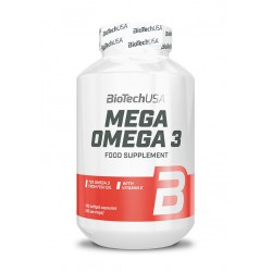 BioTechUSA Mega Omega 3 180 caps.