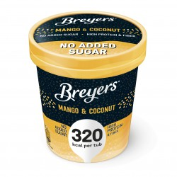 Breyers Delights Mango & Coconut High Protein Ice Cream 465ml (Lower Sugar)