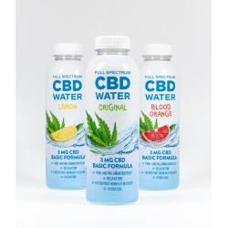 AIDVIAN FULL SPECTRUM CBD WATER 3 MG 500 ML