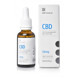USA medical CBD olaj 30ml 250mg