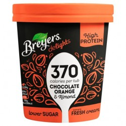 Breyers Delights  Chocolate Orange & Almond High Protein Ice Cream 465ml (Lower Sugar)