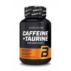BioTechUSA Caffeine + Taurine 60 caps.