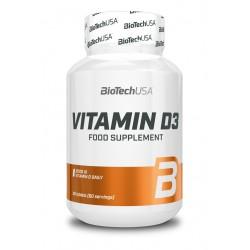 BioTechUSA Vitamin D3 60 tab.