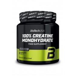 BioTechUSA 100% Micronized Creatine Monohydrate 300g