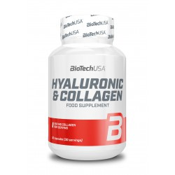 BioTechUSA Hyaluronic & Collagen 30 caps.