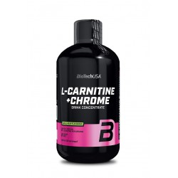 BioTechUSA  L-Carnitine + Chrome 500ml