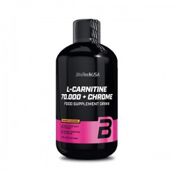 BioTechUSA L-Carnitine 70.000mg + Chrome 500ml