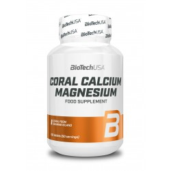 BioTechUSA Coral Calcium - Magnesium 100 tab.