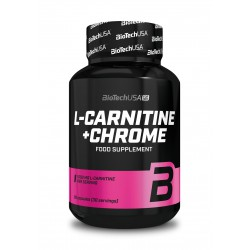 BioTechUSA L - Carnitine + Chrome - 60 kapszula