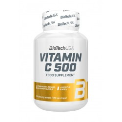BioTechUSA Vitamin C 500 120 rágótabletta