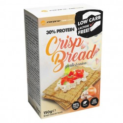 FORPRO 30% PROTEIN CRISP BREAD - GARLIC & ONION 150g