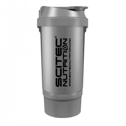 Scitec Nutrition Traveller Shaker Silver (Ezüst) 500 ml