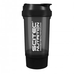 Scitec Nutrition  Traveller Shaker Black (Fekete)  500 ml