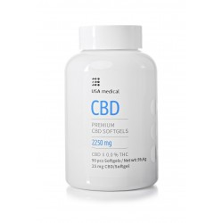 USA medical CBD drazsé 2250mg (90x25mg)