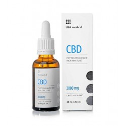 USA medical CBD olaj 30ml 3000mg extra nagy dózis