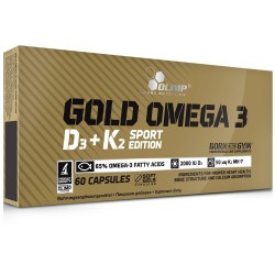 Olimp Gold Omega 3 D3 + K2 SE 60 kapszula