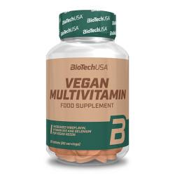 BioTechUSA Vegan Multivitamin – 60 db tabletta