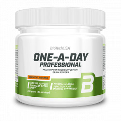 BioTechUSA One-A-Day Professional étrend - kiegészítő italpor orange (narancs) 240 g