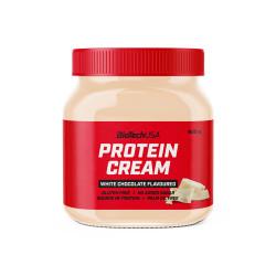 BioTechUSA Protein Cream 400 g fehércsokoládé ízű